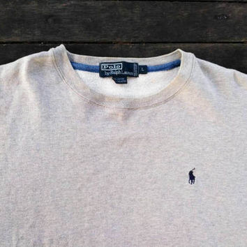 Polo Ralph Lauren small pony sweatshirt jumper vintage