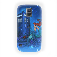 Doctor Who Meets Disney Tardis ariel For Samsung Galaxy S5 Case