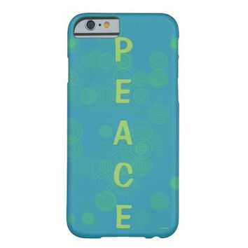 Peace iPhone 6 Case