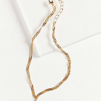Frasier Sterling Forever Yours Choker Necklace | Urban Outfitters