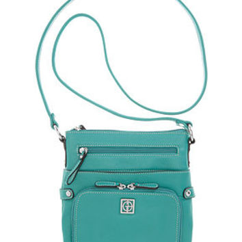 Giani Bernini Handbag, Pebble Leather Crossbody Bag, Small - Crossbody & Messenger Bags - Handbags & Accessories - Macy's