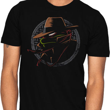 detective teenage mutant ninja turtles shirt