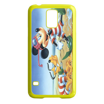 Vintage Mickey Mouse and Pluto Samsung Galaxy S5 Case