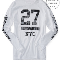 Brooklyn Calling Long Sleeve 27 Graphic T