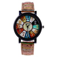 Casual PU Leather Watches