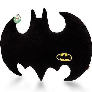 Throw Pillows Cloth Art Toy the Dark Knight Batman Logo Pillow Plush Cushion = 1927943556
