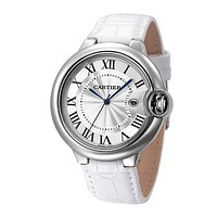 Perfect Cartier Ladies Men Fashion Quartz Watches Wrist Watch