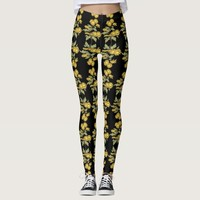 flower stylish leggings