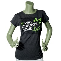 Women's It Works! Charcoal It Will Change Your Life T-Shirt - Women - Apparel