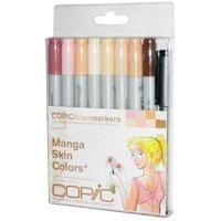 Copic Markers 9-Piece Ciao Manga Set, Skin:Amazon:Arts, Crafts & Sewing