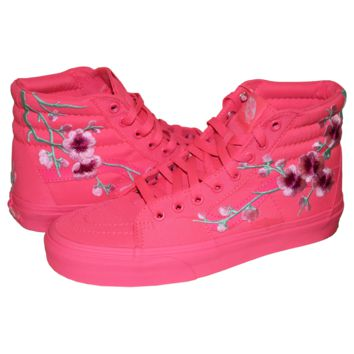 Neon Blossom Sneakers