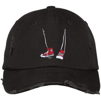 Retro Step Brothers Sneaks Inspired Distressed Dad Cap