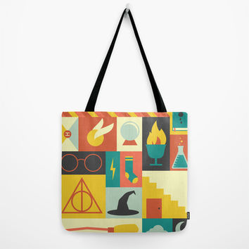 Harry Potter Tote Bag by Ariel Wilson