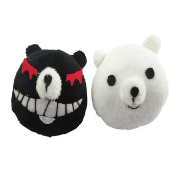 Danganronpa Junko Enoshima Emboitement Inushio Kimuchi Symbol Mark Dangan-Ronpa Trigger Happy Havoc Cosplay Accessories Headwear