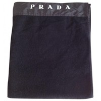 Beach towel PRADA Black