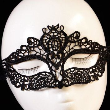 Gothic Style Lace Party Mask