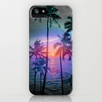 Run Away In Your Dreams (Palm Tree Paradise) iPhone & iPod Case by soaring anchor designs ⚓ | Society6