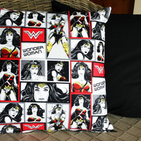 Wonder Woman Justice League Cushion Cover
