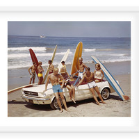 Tom Kelley, Surfboards at the Beach, Photographs