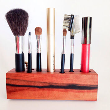 Makeup Organizer Tineo Wood 5th Anniversary Gift