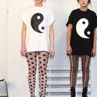 Yin Yang Tee from Syd and Mallory