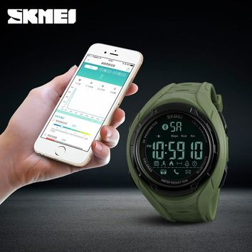 Bluetooth Smart Watch For Apple IOS Android Digital Smartwatch 50M Waterproof Pedometer Sport Watches Men Relogio Masculino