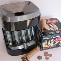 Accuwrapper Motorized Coin Sorter/Free Wrappers