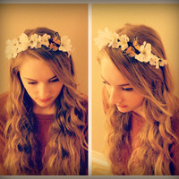 Butterfly Floral Headband