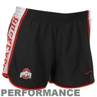 Nike Ohio State Buckeyes Black Pacer Performance Shorts