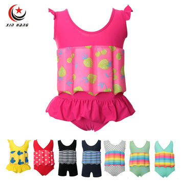 Girls Baby Buoyancy Swimwear Kids Swim Float Suits Learn To Swim Tools Boys Surfing Swimming Life Vest Water Safety Swim Cloth
