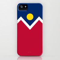 Denver (Colorado) city flag - Authentic version iPhone & iPod Case by LonestarDesigns2020 - Flags Designs +