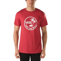 Vans Dual Palm Island Tee (Heather Red)