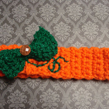 Little Pumpkin Newborn Halloween Crochet Baby Headband - baby gift - pumpkin - Holiday - photo props - baby girl - Baby Halloween Costumes