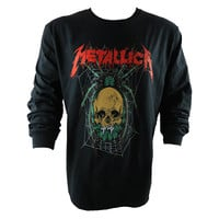 Metallica.com | Products | Spider Longsleeve