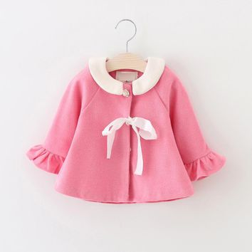 hot selling infants girl coat kid's child baby's clothes coats baby girls sweet beautiful princess cute dresses lovely clothing