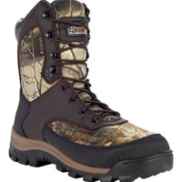"Rocky Men's Core 8"" Insulated Field Boot - Brown/RealTree 