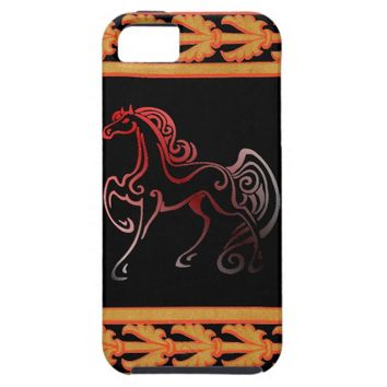 Horse Tails iPhone SE/5/5s Case
