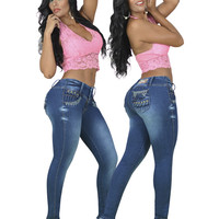 Sexy Low Rise Skinny Jeans
