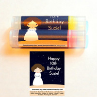 25 Star Wars Wedding Lip balm Favors -  star wars wedding favor, starwars wedding, bridal shower, baby shower favor, geek theme wedding, A90