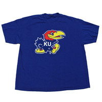 Vintage University of Kansas Jayhawks Shirt Mens Size XL