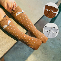 Kids Fox Socks  Cartoon Kawaii Sock fox unisex
