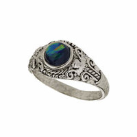 Mystic Stone Ring - Green
