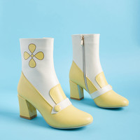Banned Mod Than Meets the Eye Bootie in Yellow