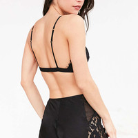 Out From Under Eyelash Lace Tap Short - Urban Outfitters
