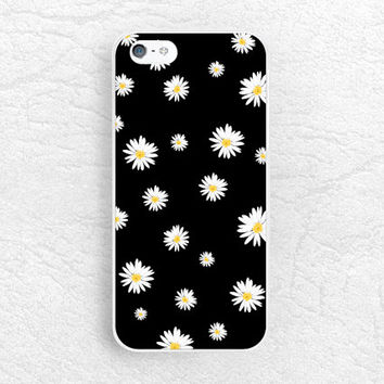 Daisy flower phone case for iPhone 6 iPhone 5s, Sony z1 z3 compact, LG g3 nexus 5, HTC one M9 M8, Moto x Moto g, Samsung S6 floral case -P36