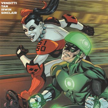 Green Lantern # 39 DC Comics The New 52! Vol. 5 Variant Harley Quinn Cover