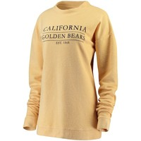 Women's Venley Gold Cal Bears Herrington French Terry Sweatshirt