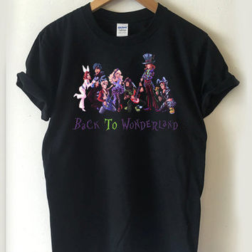 alice in wonderland disney T-shirt Men, Women, Youth and Toddler