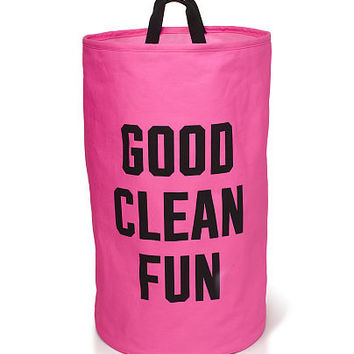 Laundry Hamper - PINK - Victoria's Secret