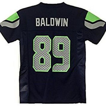 Doug Baldwin Seattle Seahawks Nfl Youth Navy Home Mid Tier Jersey